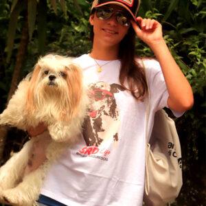boné e camiseta para amantes de animais de estimação