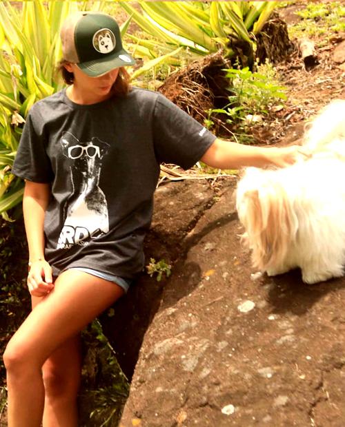 camiseta surf dog parafina